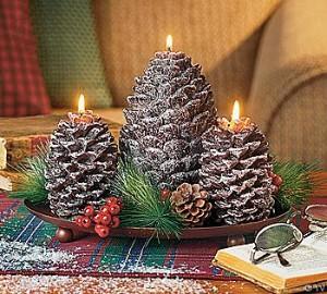 Christmas Tree Candle Molds